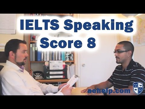 IELTS Speaking Section Example Practice Interview 2