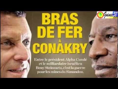 La guerre du fer en Guinée-Conakry