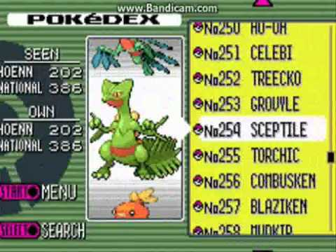 Pokemon emerald complete pokedex no cheats youtube
