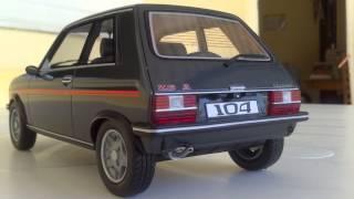 Peugeot 104 ZS2 Vs Talbot Samba Rallye 1/18 Ottomobile (974)
