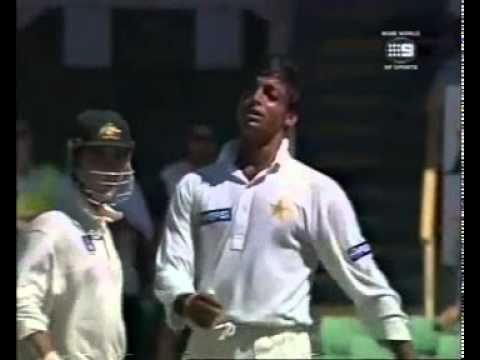 Shoaib Akhtar Fastest Over
