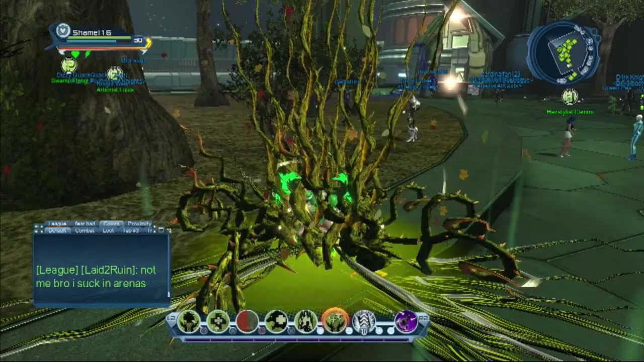 dcuo nature healing pve power set guild youtube