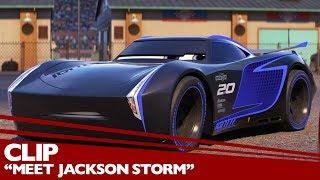 """Meet Jackson Storm"" Clip - Disney/Pixar's Cars 3 - Friday in 3D"