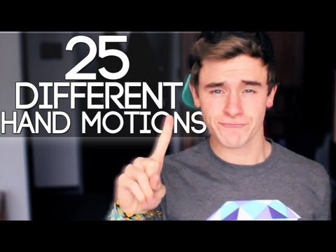 25 Different Hand Motions