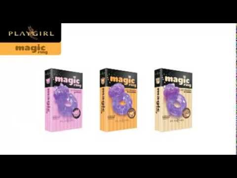 Magic Ring Playgirl - Anel Vibratório  Ninfo SexShop