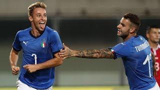 Highlights Under 21: Italia-Moldavia 4-0 (6 settembre 2019)