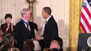Obama Awards George H. W. Bush A Medal Of Freedom