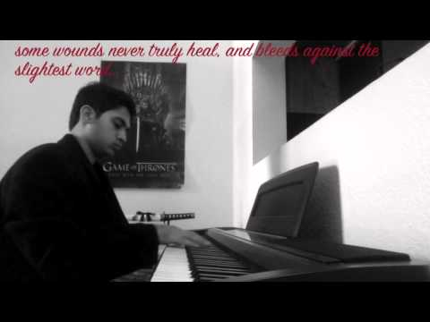 Game of Thrones - Theme (Piano Cover) with Quotes