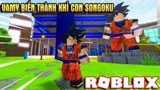 ROBLOX | Khỉ Con SONGOKU Vamy Xây Trụ Sở Chiến Đấu Với Kẻ Địch | 🎉 Anime Tycoon ⚔️ | Vamy Trần