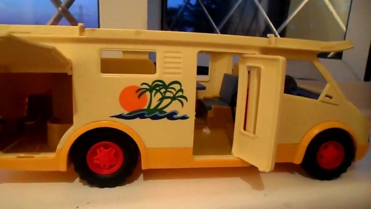 Playmobil Toy Camper Van Caravan Truck Lorry Youtube