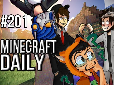 Minecraft Daily | Ep.201 | Ft. Kevin, ImmortalHd and Steven | The Mighty Shickaxe