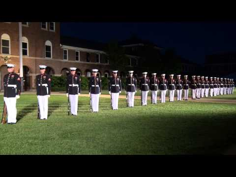 United States Marine Corps Silent Drill Platoon 2013