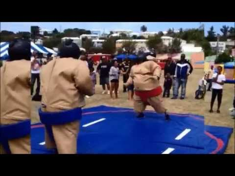 OBA vs PLP Sumo Wrestling On Good Friday, 2014
