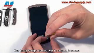 Samsung S8500 LCD ekran değişimi