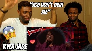 """The Voice 2018 Knockout - Kyla Jade: """"You Don't Own Me"""" (REACTION)"""
