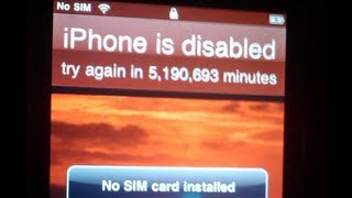 How To Unlock A Disabled IPhone Without Itunes!
