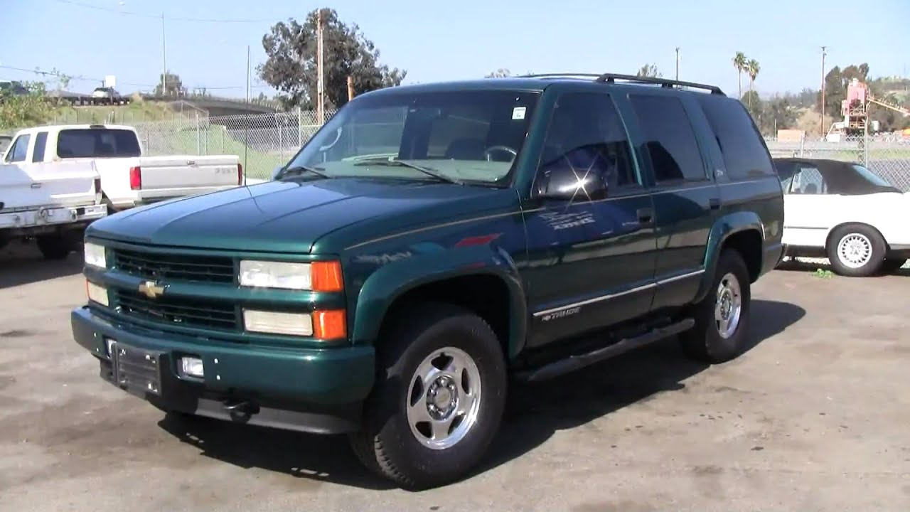 2000 chevrolet tahoe z 71 4x4 awd suv gmc yukon escalade for sale youtube. Black Bedroom Furniture Sets. Home Design Ideas