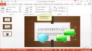 Curso De PowerPoint 2013. 4. Manejar Objetos.