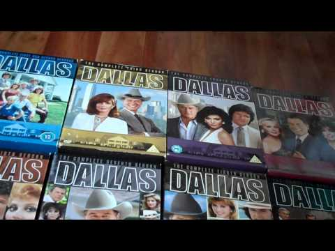 *ASMR* Dallas DVD collection *whisper*