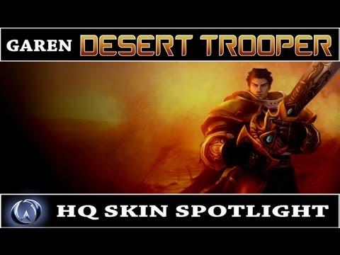 Desert Trooper Garen Skin