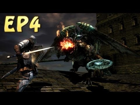 Dark Souls Walkthrough - Bell Gargoyle & Moonlight Butterfly (EP4)