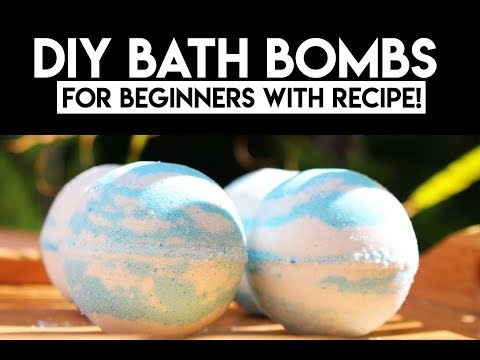 How to make Bath Bombs With Recipe- Bubble Bath Bombs | Watson |