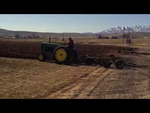 Antique tractor plow day