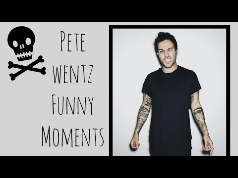 Pete Wentz Funny Moments