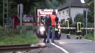 NRWspot.de | Gevelsberg – Traktor gegen Zug