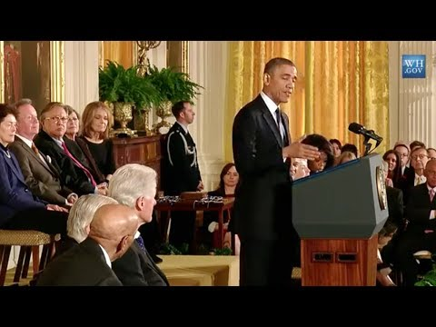 Presidential Medal of Freedom 2013 Awards Ceremony