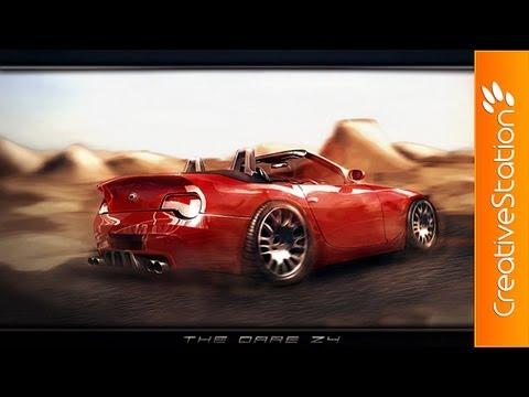 The Dare Z4 - Speed painting ( #Photoshop CS6 ) | CreativeStation