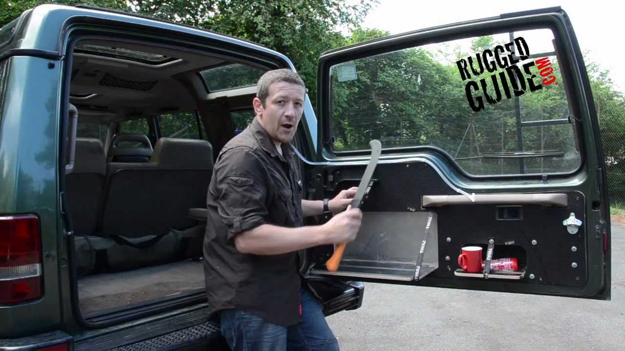 Discovery 300 Tdi Rear Door Conversion Youtube