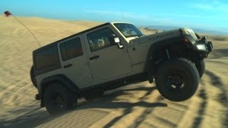 Sand Crawling in a Jeep Wrangler Rubicon! - Wide Open Throttle Episode 33 videos