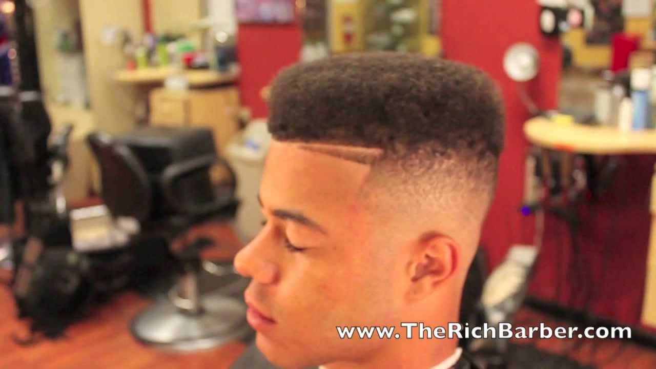 Hightop Fade By Chuka The Barber How To Barber Youtube