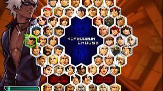 拳皇2002无限之战全部人物 The King Of Fighters