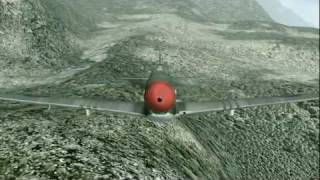 "P-51 North American Mustang ""Strafing Run"" 1945 FSX"