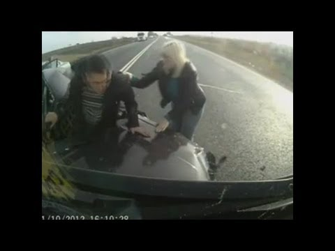 Russian Road Rage Compilation February 2013 [18+] 1080P FULL HD II AW