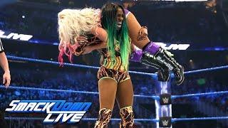 Naomi vs. Alexa Bliss — SmackDown Women's Championship Match: SmackDown LIVE, April 4, 2017