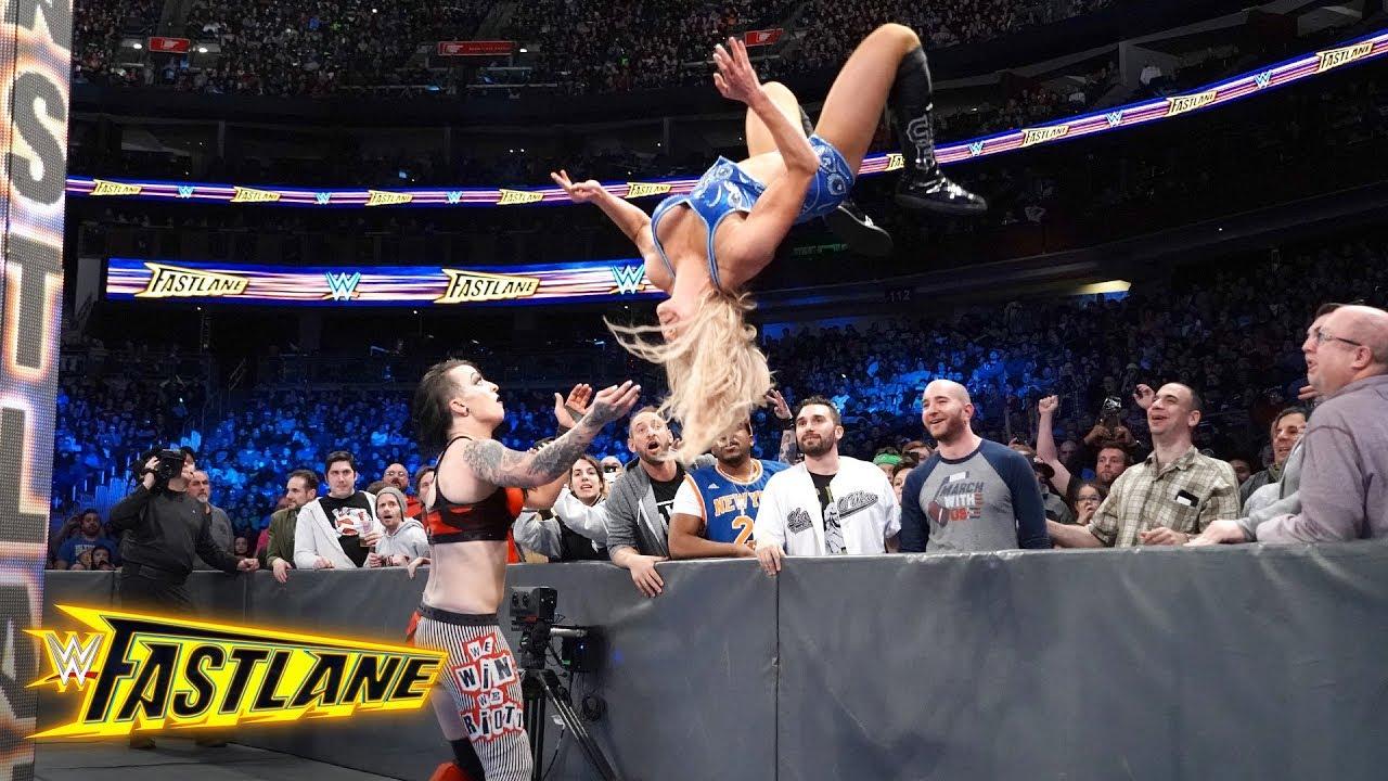 WWE Fastlane: Ruby Riott Vs. Charlotte Flair (SmackDown Women\'s ...