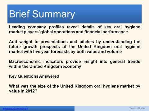 Oral Hygiene in the United Kingdom - Reports Corner