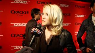 "Emily Osment Talks ""Cleaners"", Miley Cyrus Media Attention"