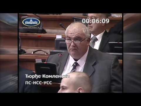 Ђорђе Комленски - о аеродромима, становању ...