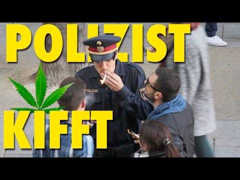 POLIZEI PRANK - Polizist KIFFT
