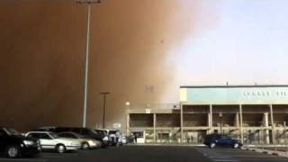 Lubbock sand storm (Haboob)
