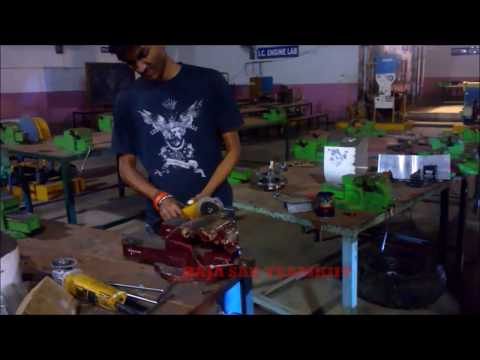 Manufacturing and Brake Calliper Assembly of ATV : BAJA SAE TEAMKIIT