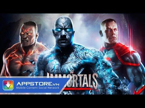 [Game] WWE: Immortals - Đấu vật tự do - AppStoreVn