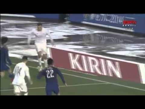 Chris Wood Fantastic Goal   Japan vs New Zealand 4 1 Friendly Match 2014