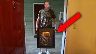 DELIVERY GUY BREAKS MY 1 MILLION PLAQUE..