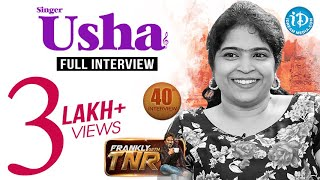 Frankly With TNR : Singer Usha Exclusive Interview..