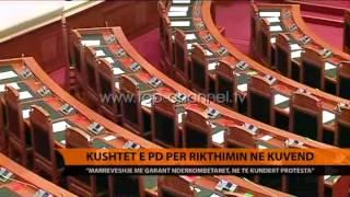 Kushtet e PD pr rikthimin n Kuvend  Top Channel Albania  News  L